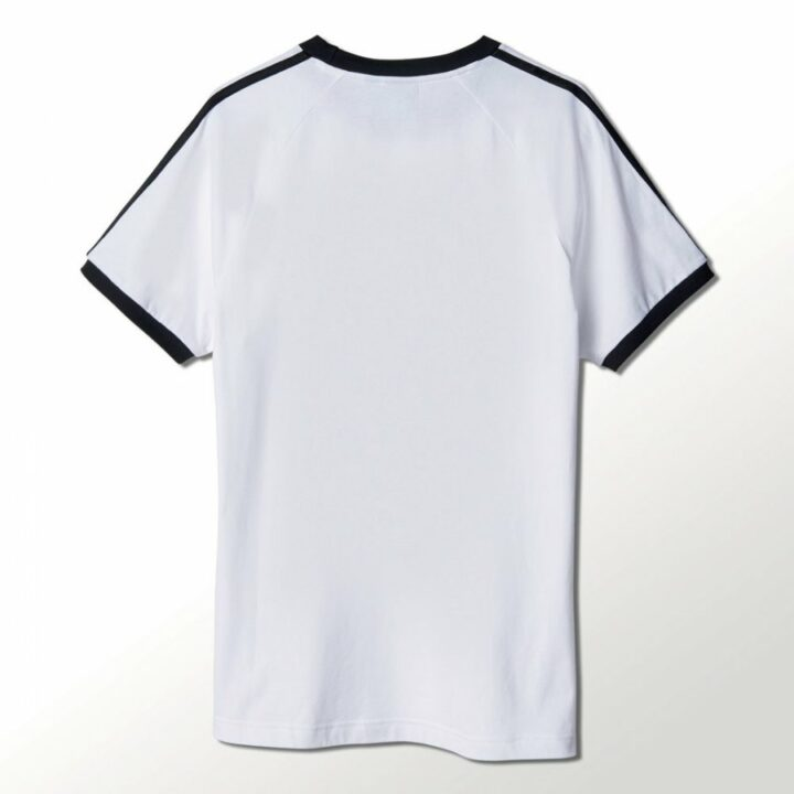 Adidas 3 Stripes fehér férfi póló