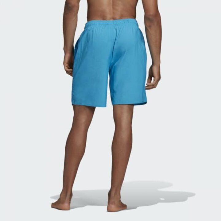 Adidas 3 Stripes kék férfi rövidnadrág