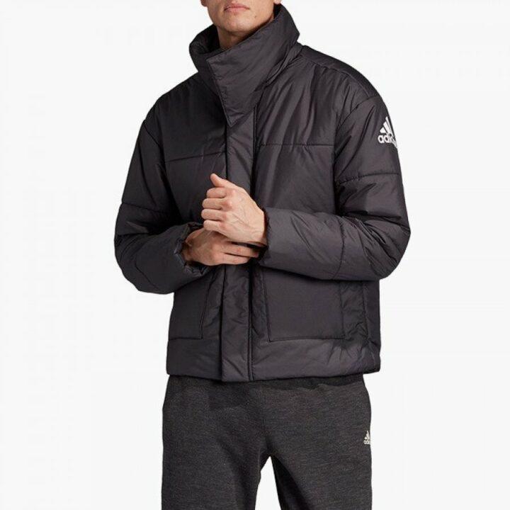 Adidas Big Baffle fekete férfi kabát