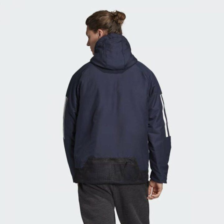 Adidas BTS 3 Stripes fekete férfi kabát