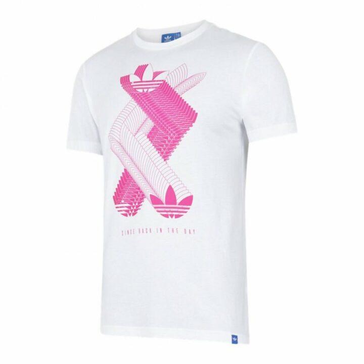 Adidas Distruptive Originals fehér férfi póló