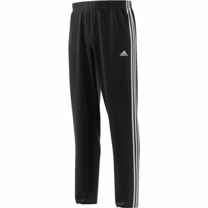 Adidas ESSENTIALS 3 STRIPE WOVEN PANT fekete férfi melegítőnadrág