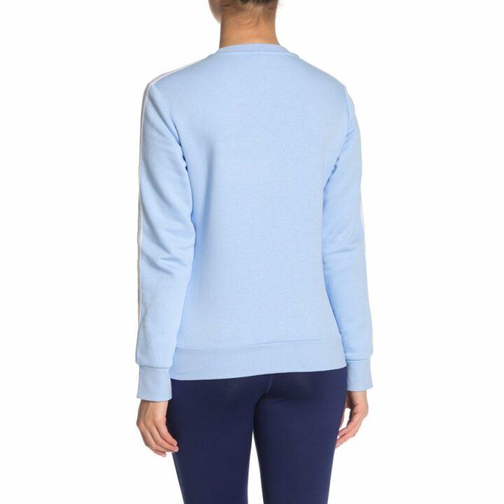 Adidas Essentials 3 Stripes kék női melegítőnadrág
