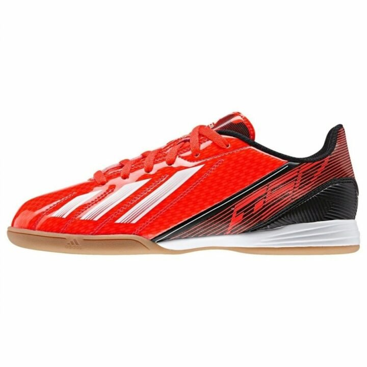 Adidas F10 IN J piros fiú teremcipő