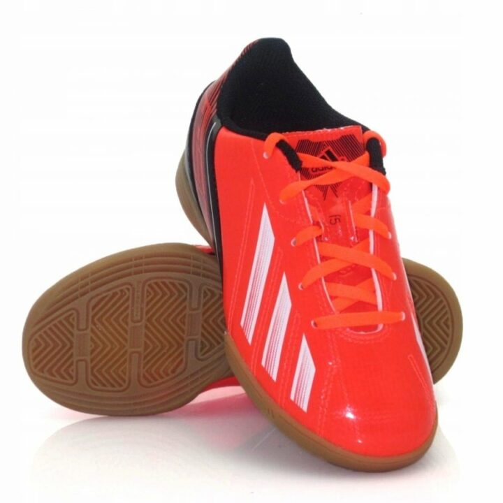 Adidas F5 IN J piros fiú teremcipő