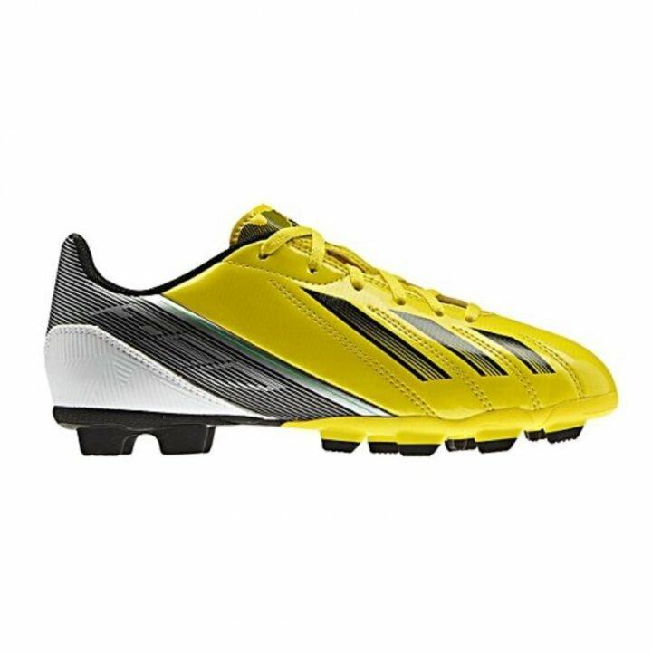 Adidas F5 TRX FG sárga fiú focicipő