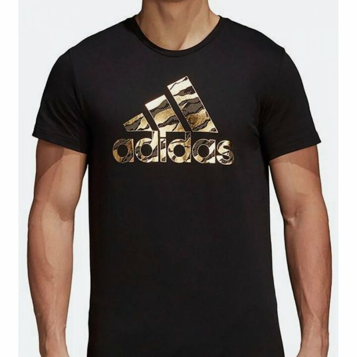 Adidas fekete férfi póló