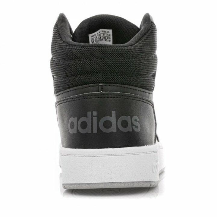 Adidas Hoops 2.0 Mid fekete férfi utcai cipő