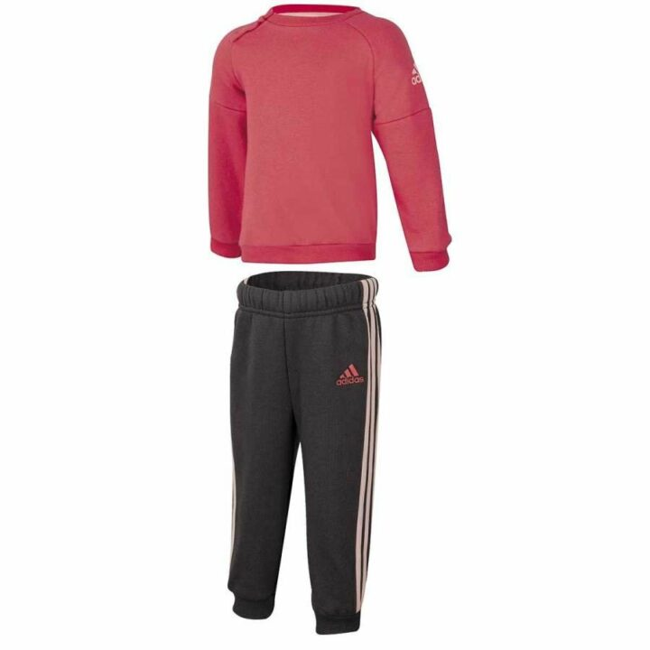 Adidas I SP Crew rózsaszín bébi melegítő együttes