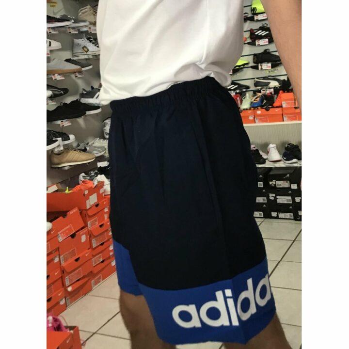 Adidas kék férfi rövidnadrág