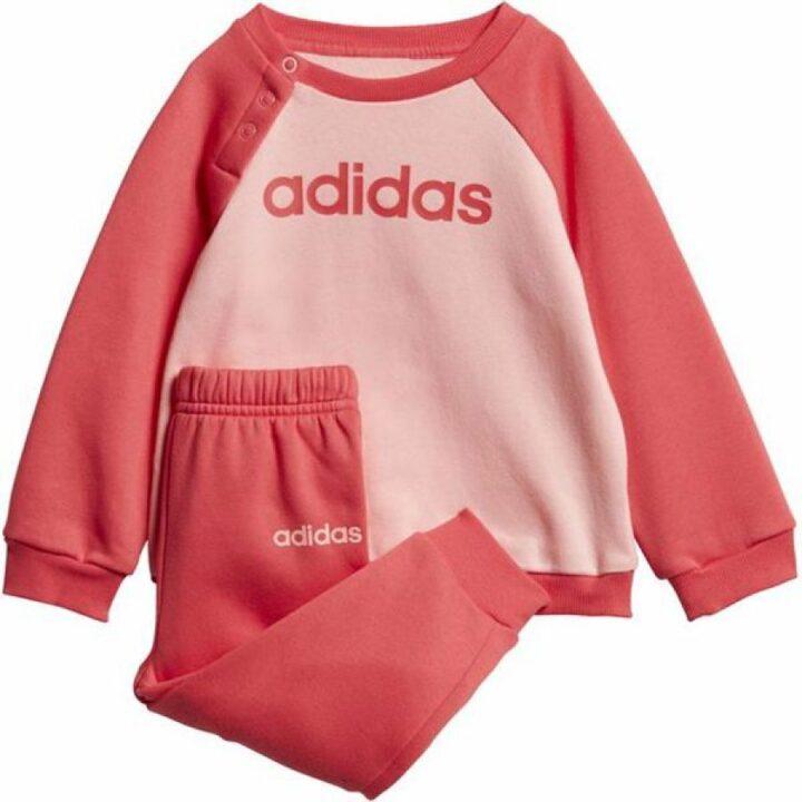 Adidas Linear rózsaszín bébi melegítő együttes