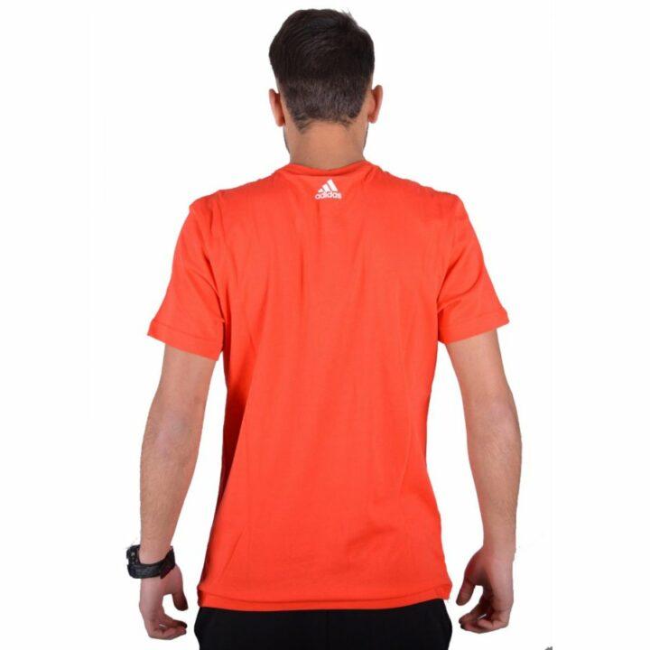 Adidas narancs férfi póló