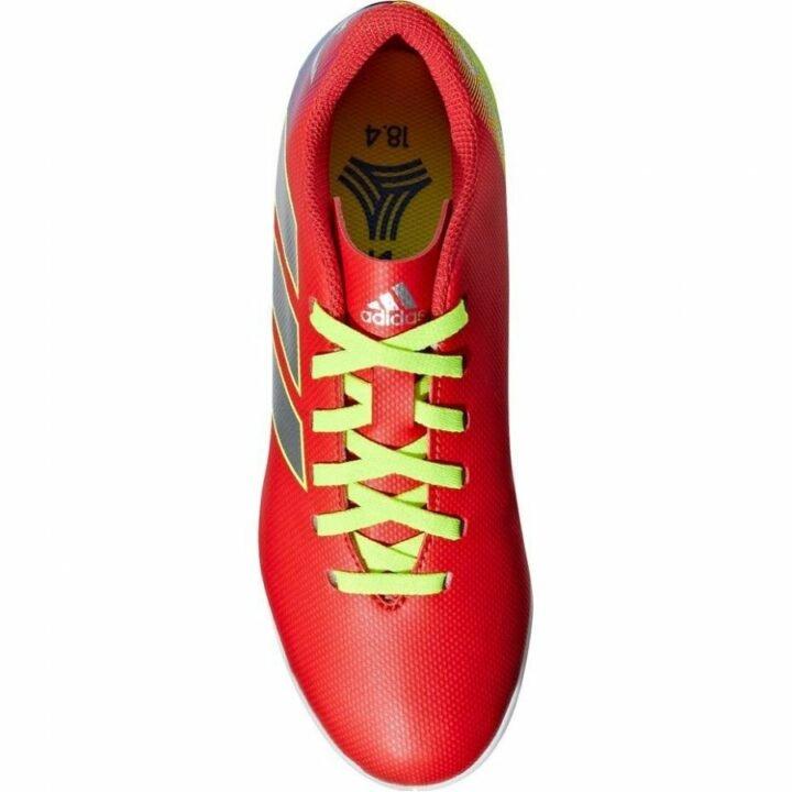 Adidas nemezis Messi 18.4 IN J piros fiú teremcipő