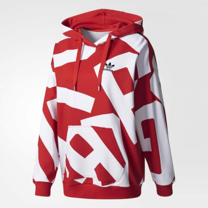 Adidas Originals Bold Age piros női pulóver