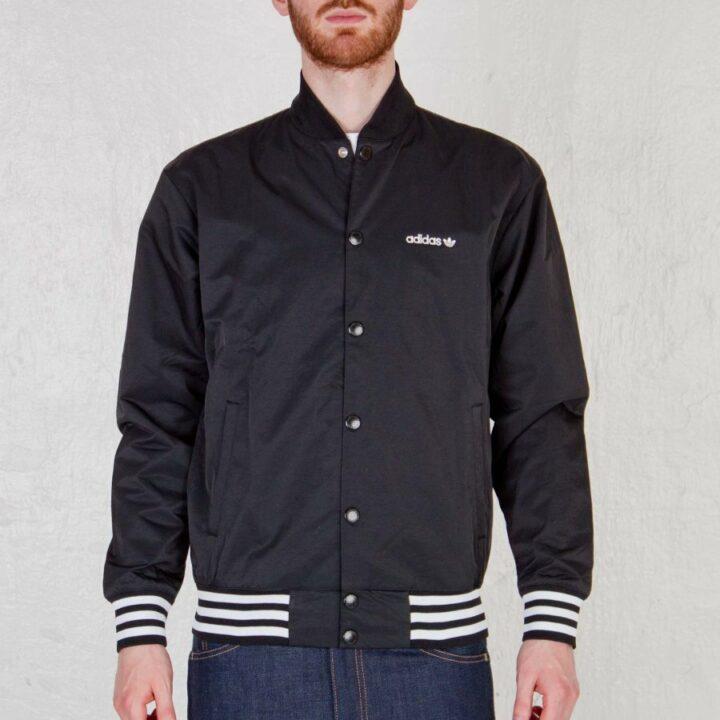 Adidas ORIGINALS STREET fekete férfi dzseki