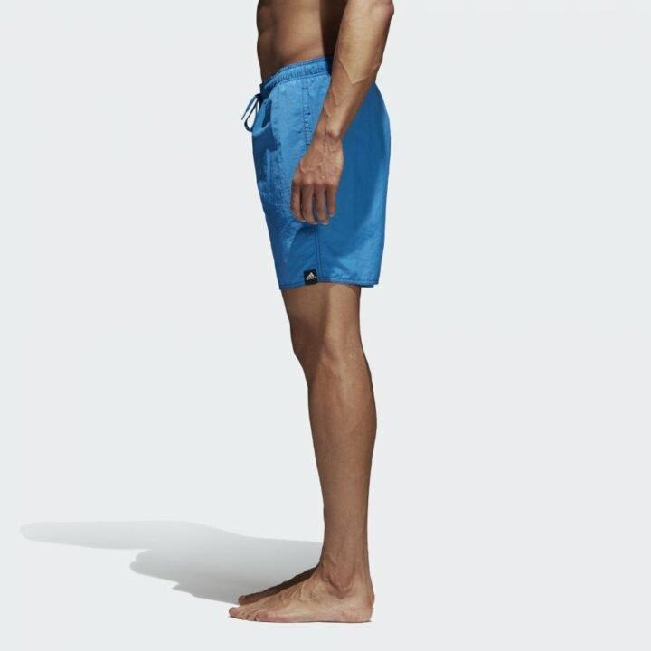 Adidas Solid kék férfi rövidnadrág
