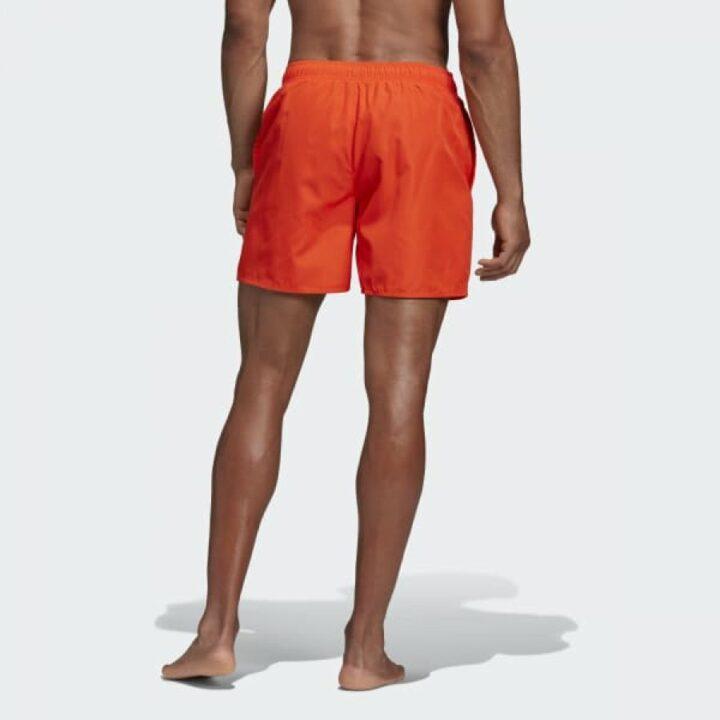 Adidas Solid narancs férfi rövidnadrág
