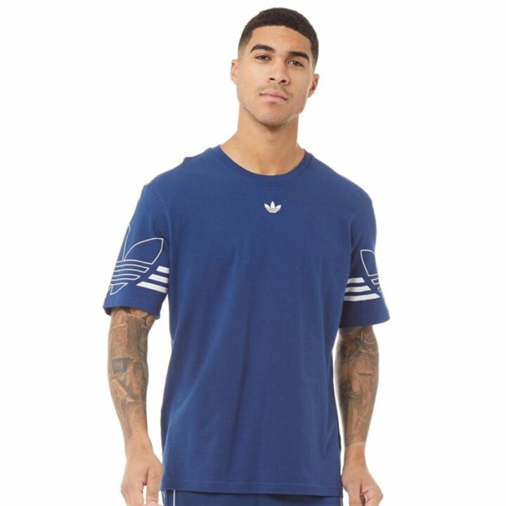 Adidas STRMZY SPRT kék férfi póló