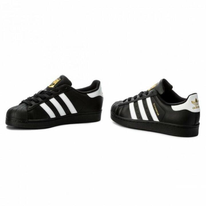 Adidas Superstar J fekete utcai cipő