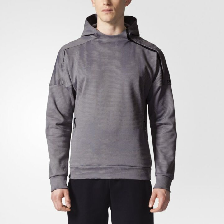 Adidas szürke férfi pulóver