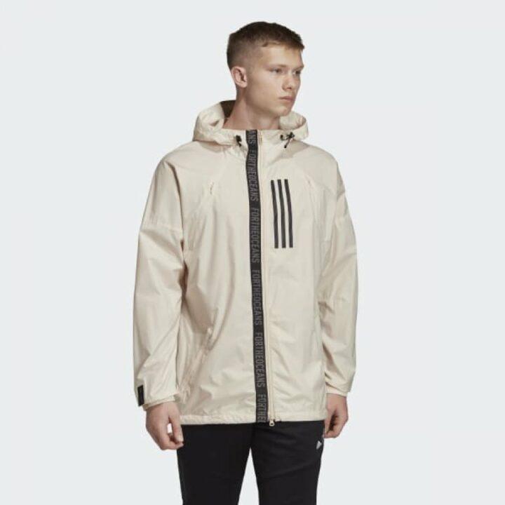 Adidas W. N. D. Parlex fehér férfi dzseki