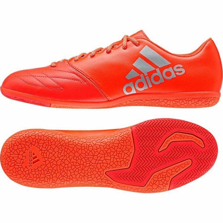Adidas X 16.3 IN Leather piros férfi sportcipő