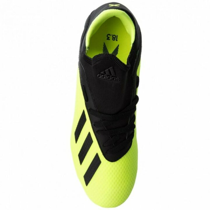 Adidas X 18.3 FG J sárga fiú sportcipő