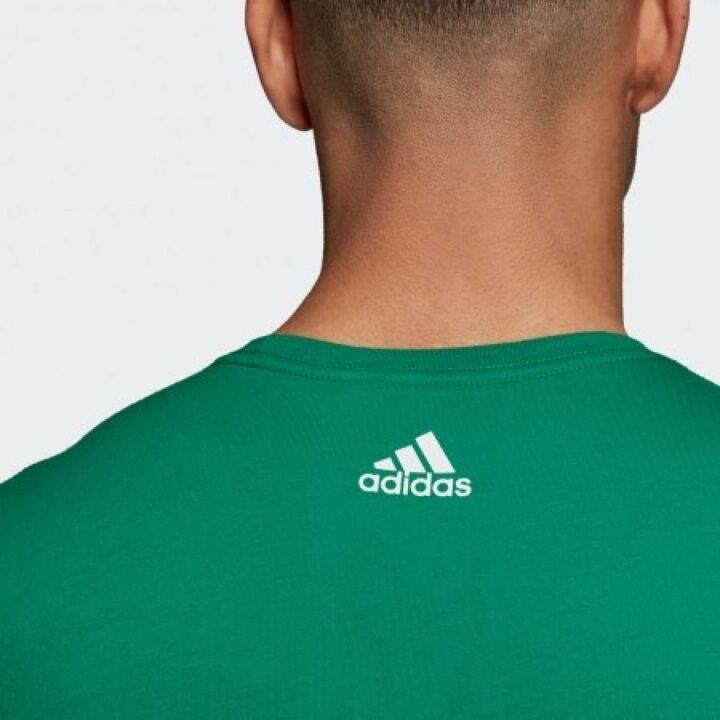 Adidas zöld férfi póló
