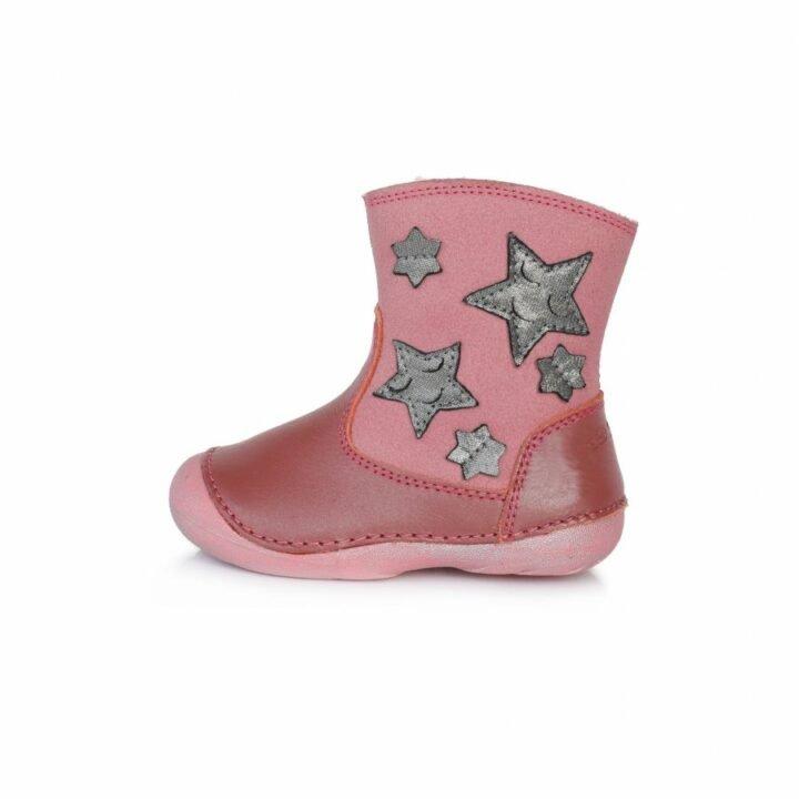 D.D Step bundás rózsaszín bébi utcai cipő