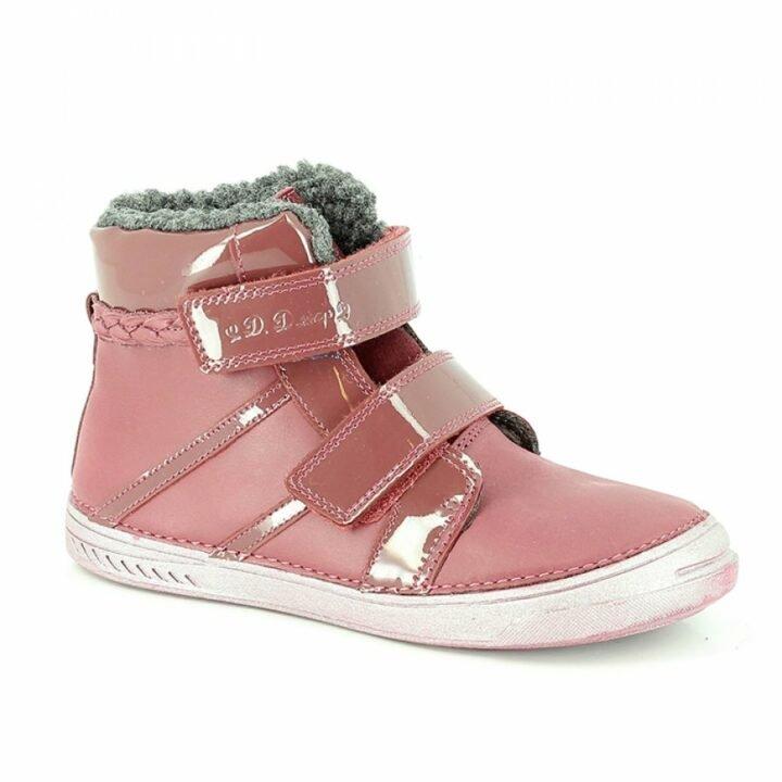 D.D Step bundás rózsaszín lány utcai cipő