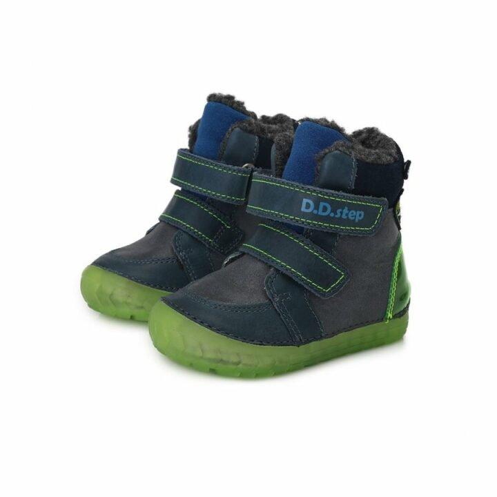 D.D Step bundás szürke bébi utcai cipő