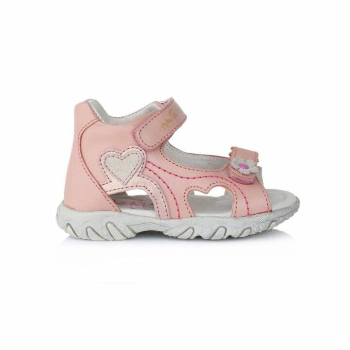 D.D Step rózsaszín bébi utcai cipő