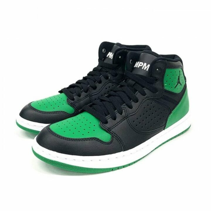 Jordan Jordan Access fekete férfi utcai cipő