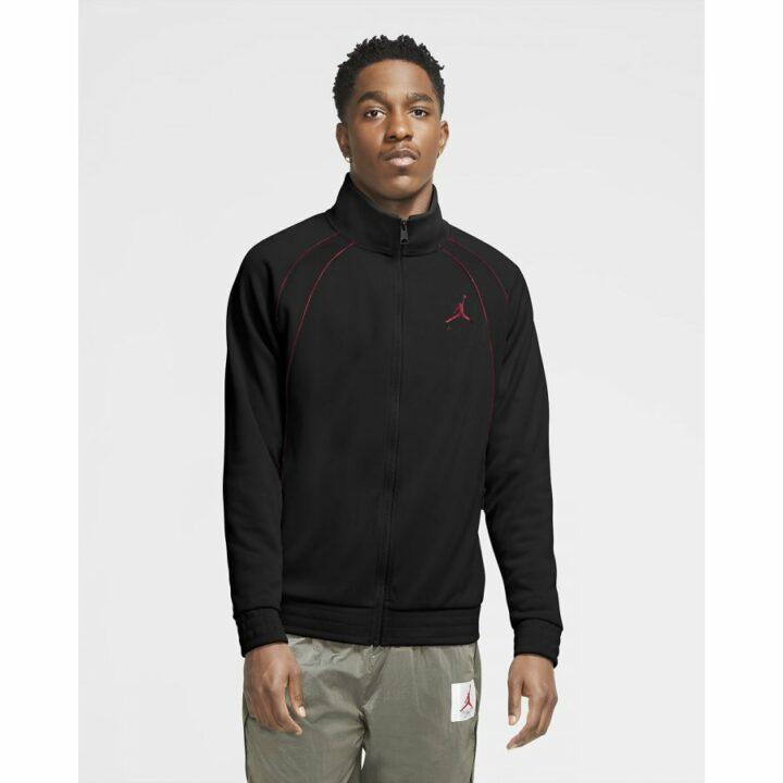 Jordan Jumpman fekete férfi pulóver