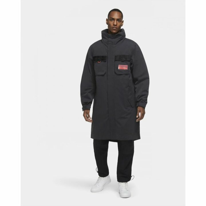 Jordan M J 23 Engineered OTW fekete férfi kabát