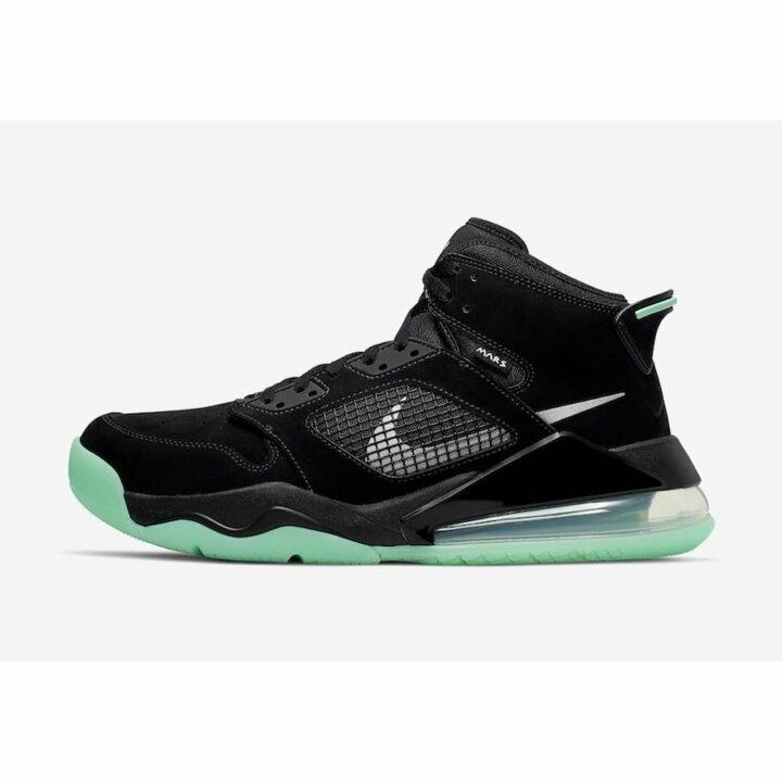 Jordan Mars 270 fekete férfi utcai cipő