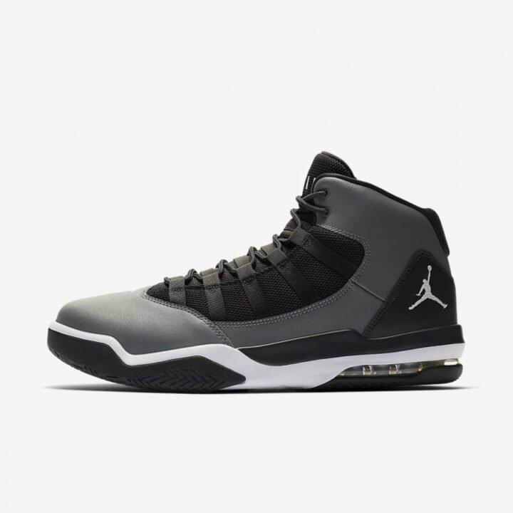 Jordan Max Aura fekete férfi utcai cipő