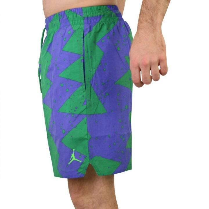 Jordan Poolside zöld férfi rövidnadrág