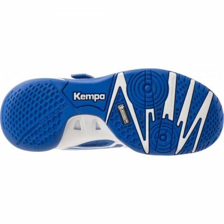 Kempa FLY HIGH WING JR kék kézilabdacipő