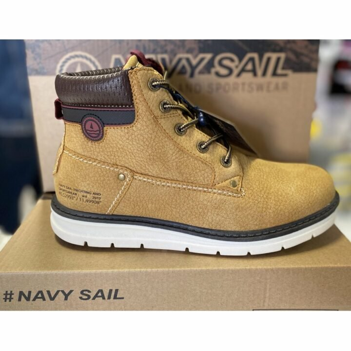 Navy Sail barna bakancs