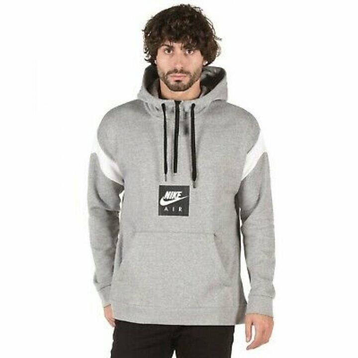 Nike Air Half Zip szürke férfi pulóver