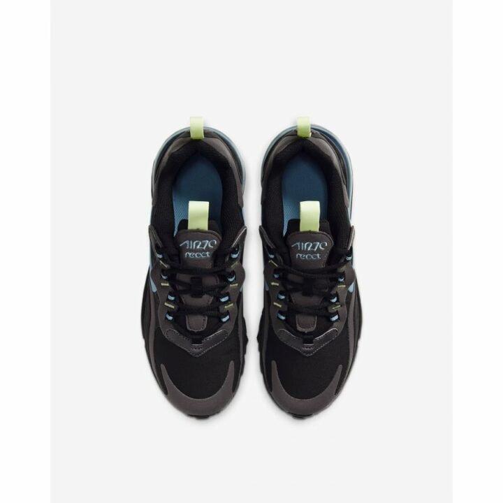 Nike Air Max 270 React fekete utcai cipő