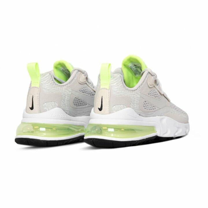 Nike Air Max 270 React szürke női utcai cipő
