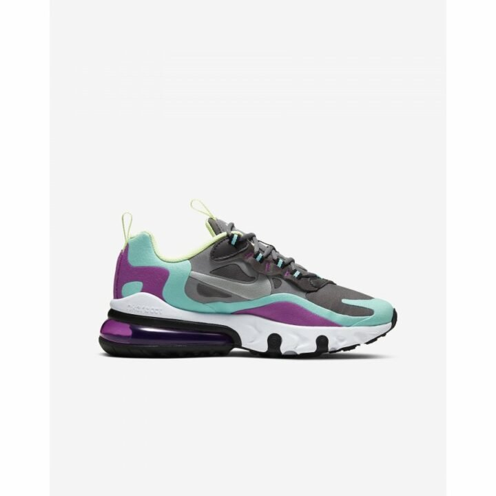Nike Air Max 270 React szürke utcai cipő