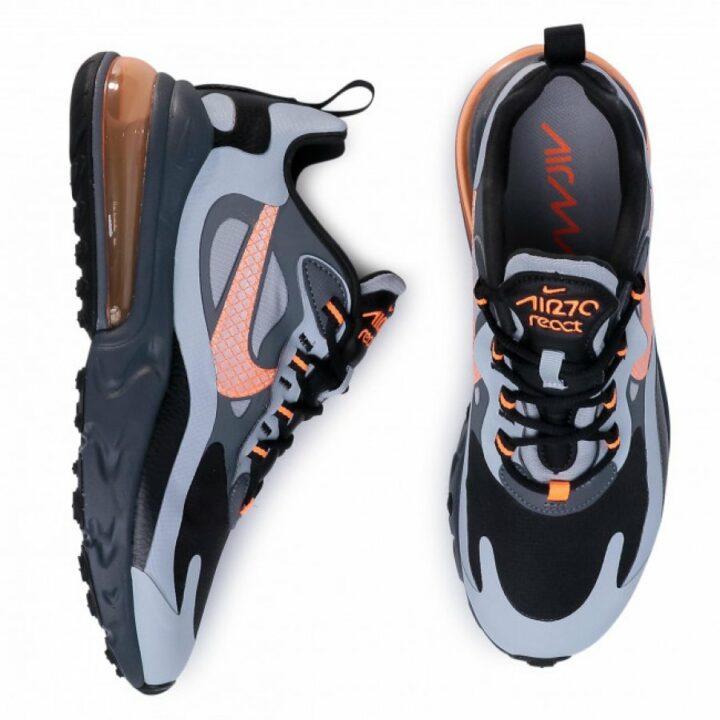 Nike Air Max 270 React WTR fekete utcai cipő