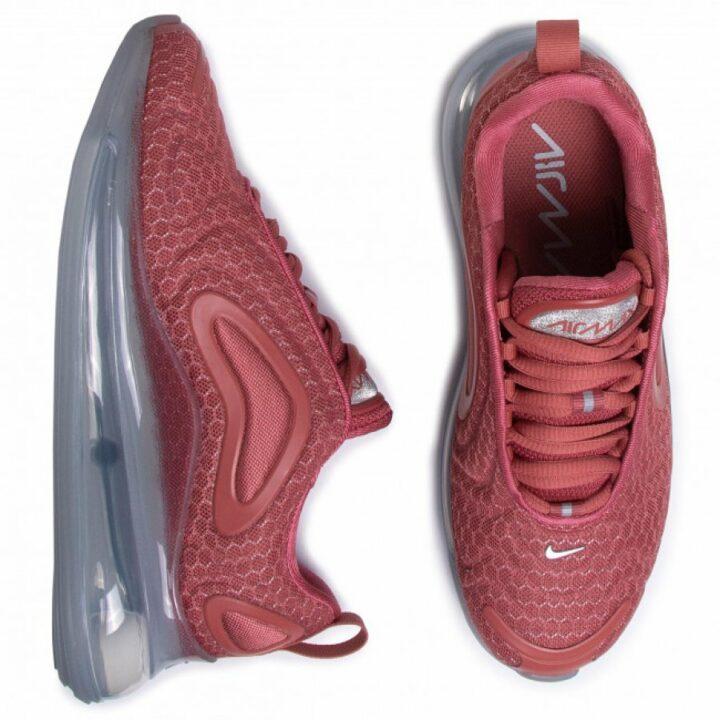 Nike Air Max 720 bordó utcai cipő
