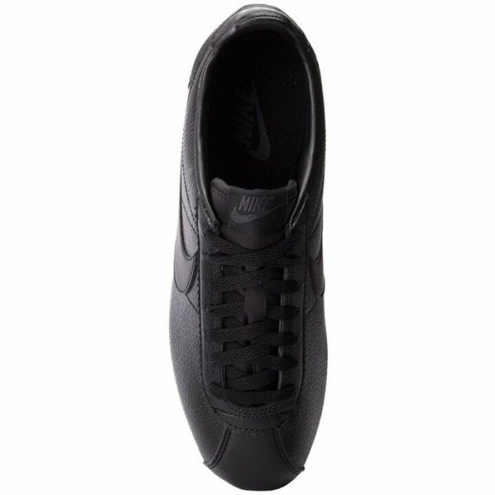 Nike Classic Cortez  Leather fekete férfi utcai cipő