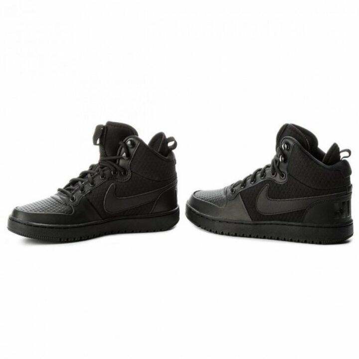 Nike Court Borough Mid Winter fekete férfi bakancs
