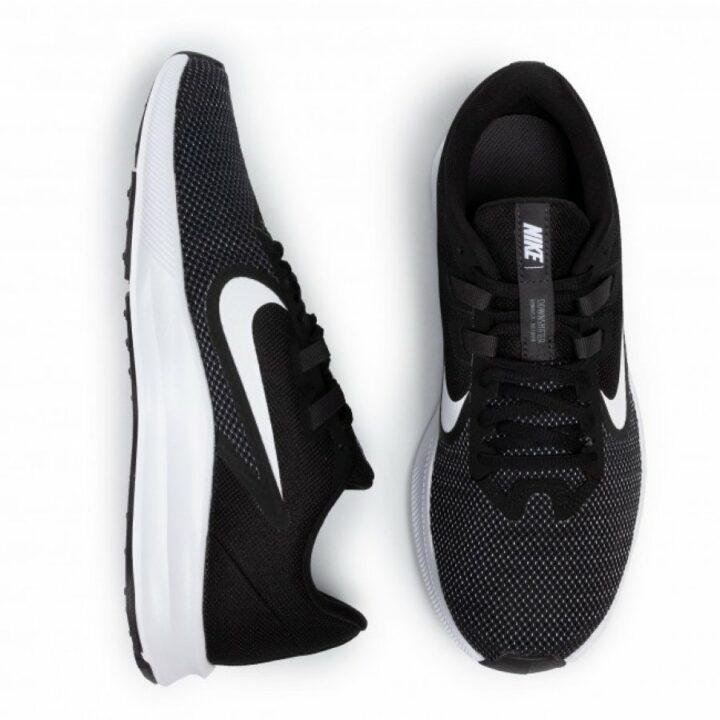 Nike Downshifter 9 fekete férfi utcai cipő