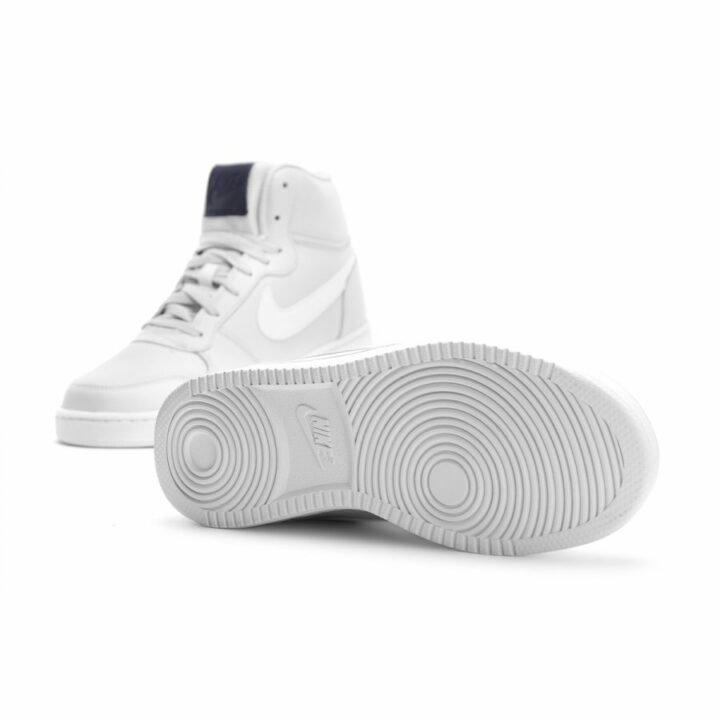 Nike Ebernon Mid fehér férfi utcai cipő